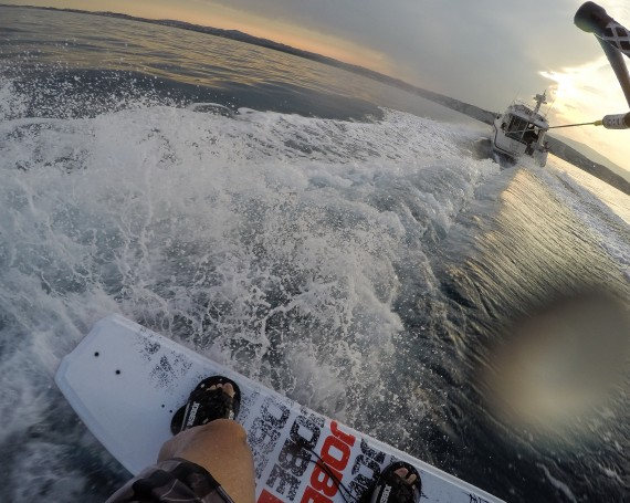 WakeBoard session