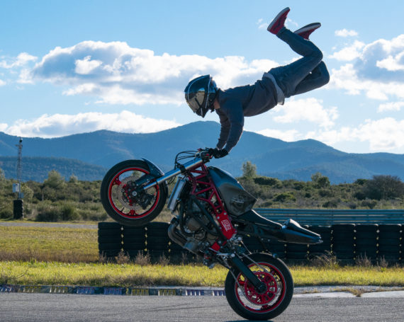 Carbon Marble StuntBike