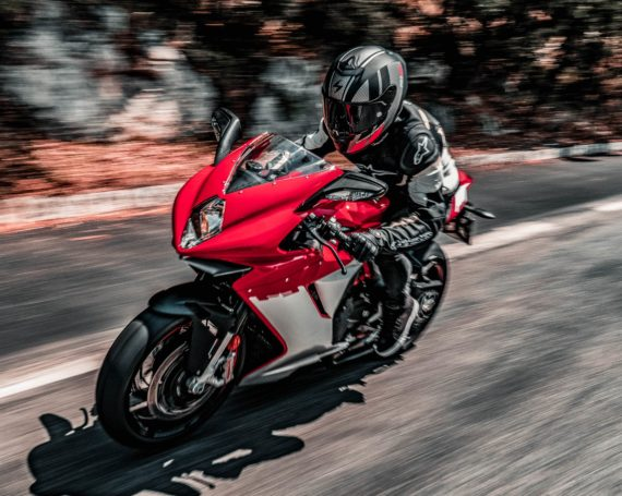 Commercial shooting MV Agusta